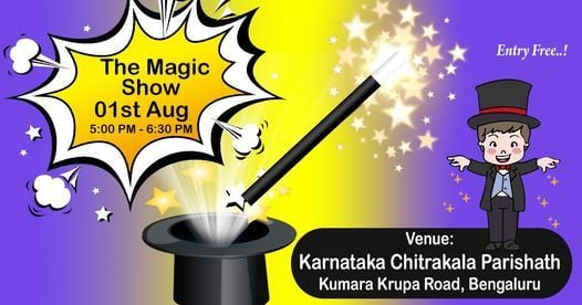 The Magic Show, 24 July | Event in Bangalore | AllEvents.in