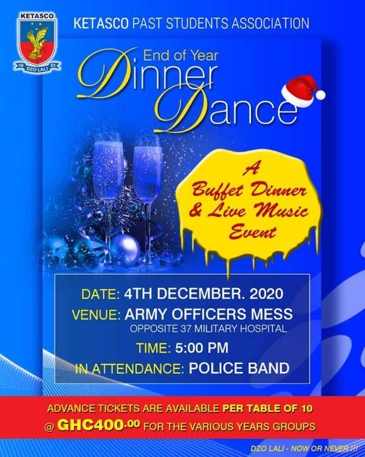 END OF YEAR DINNER  DANCE | Event in Accra | AllEvents.in