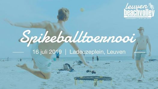 Spikeballtoernooi  Leuven Beachvolley 2019