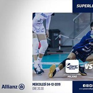 Allianz Powervolley Milano - Tonno Callipo C. Vibo Valentia