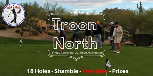 Troon North 18-hole tournament