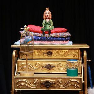 Kindertheater mit dem Theater Knuth  Die Prinzessin auf der Erbse