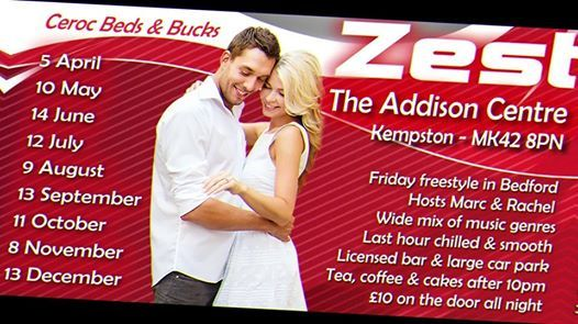 Zest at the Addison Centre in October