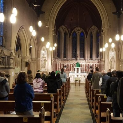 Sunday Student Mass at the Catholic Chaplaincy