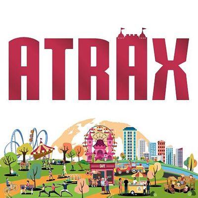 ATRAX  INTERNATIONAL AMUSEMENT- ATTRACTION PARK- RECREATION EXHIBITION
