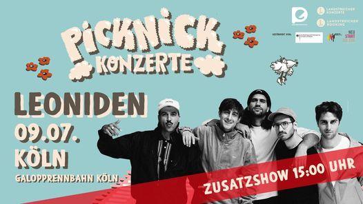 Leoniden (Zusatzshow) • Picknick Konzerte 2021 • Köln, 9 July | Event in Cologne | AllEvents.in