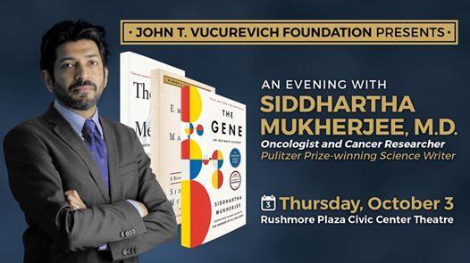 An Evening With Siddhartha Mukherjee M.D.