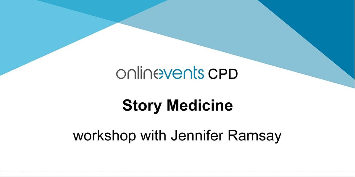 Story Medicine workshop with Jennifer Ramsay, 6 November | Online Event | AllEvents.in