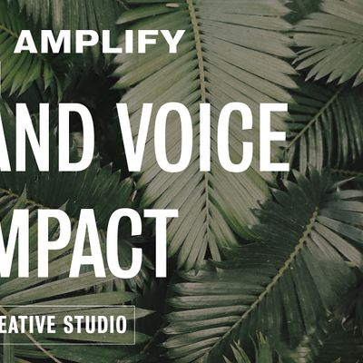 Create  Amplify Your Brand Voice for Impact