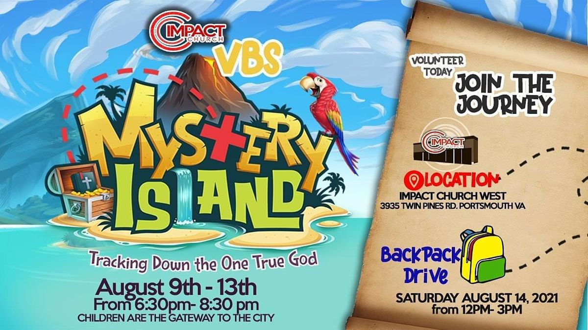 Mystery Island Vacation Bible School, 9 August | Event in Portsmouth | AllEvents.in