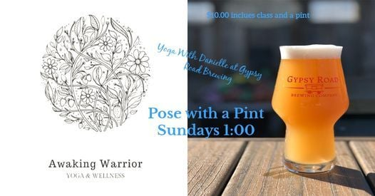Pose with a Pint Yoga, 25 April | Event in Kernersville | AllEvents.in