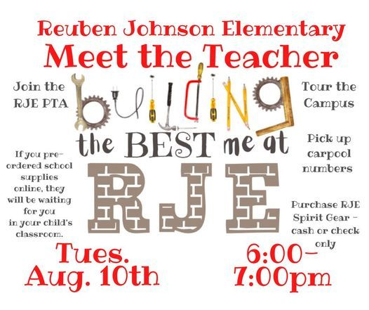 Meet the Teacher, 10 August | Event in Mckinney | AllEvents.in