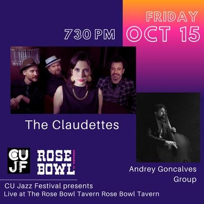 The Claudettes with Andrey Goncalves Group