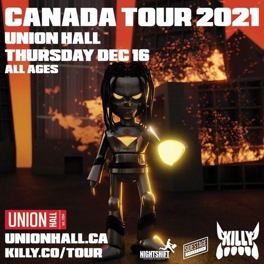 KILLY, 16 December | Event in Edmonton | AllEvents.in