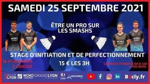Stage d'initation et de perfectionnement sur les smashs, 25 September | Event in Lyon | AllEvents.in