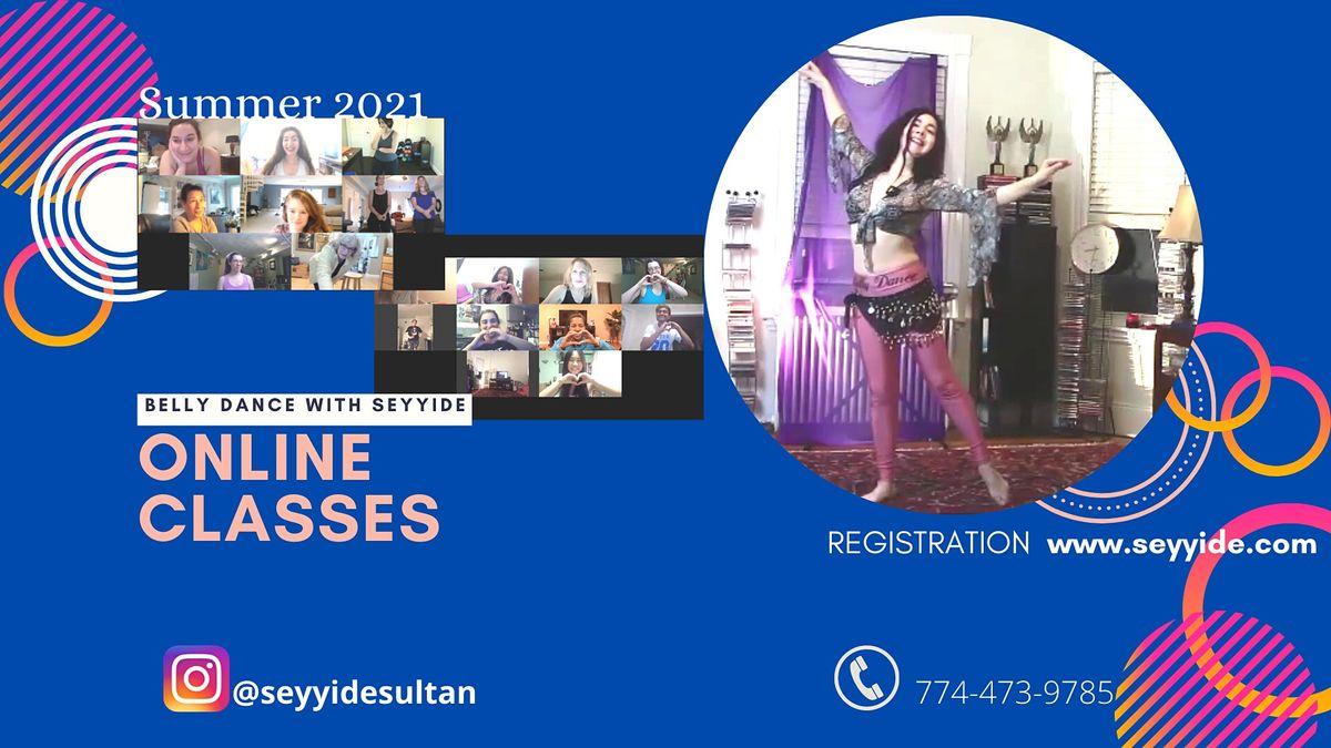 ONLINE Belly Dance Classes (Beginners)   Online Event   AllEvents.in