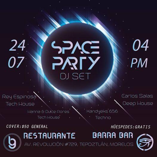 SPACE PARTY DJ SET   Event in Cuernavaca   AllEvents.in