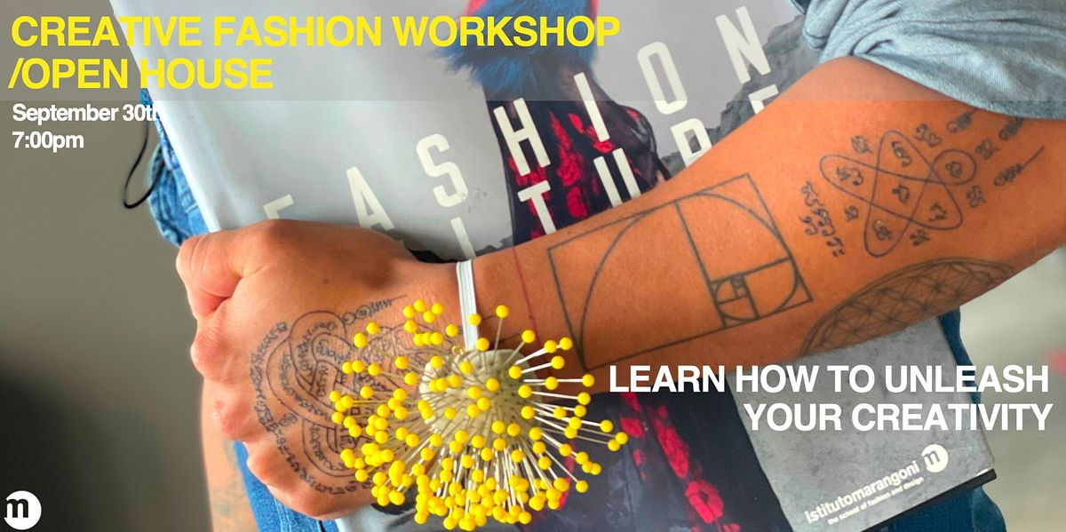 THE MIAMI SCHOOL OF FASHION OPEN HOUSE, 30 September | Event in Miami | AllEvents.in