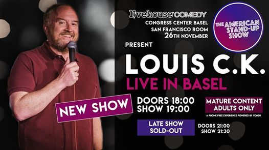 New SHOW  Louis C.K.Live in Basel