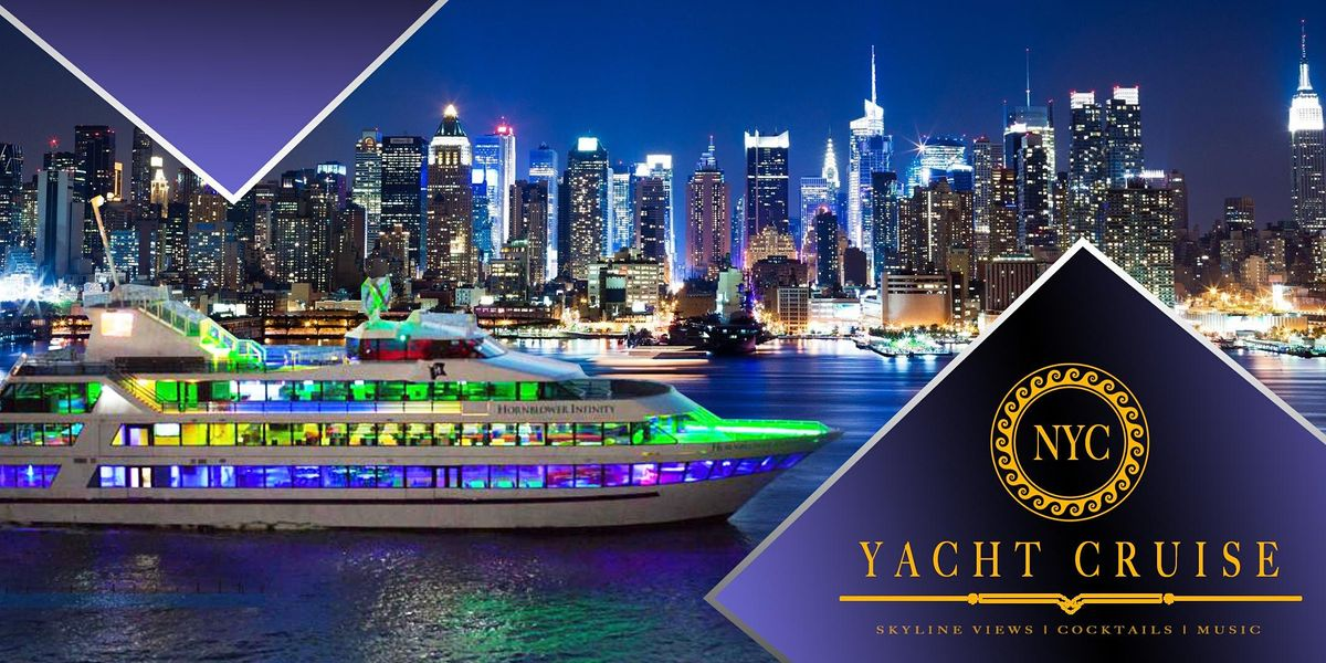 THE #1 New York City Boat Party Cruise on Luxurious Yacht Infinity, 22 October | Event in New York | AllEvents.in