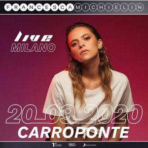 Francesca Michielin live a Sesto san Giovanni  20 settembre
