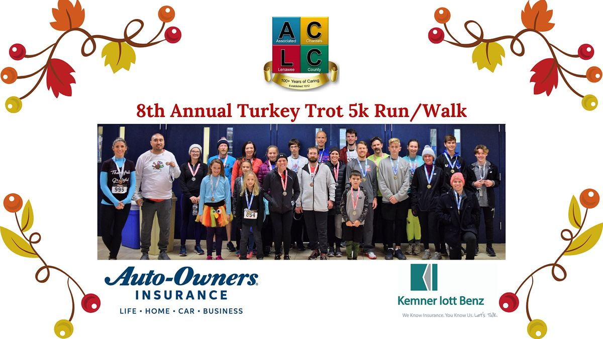 Associated Charities Turkey Trot 5k Run/Walk, Siena Heights