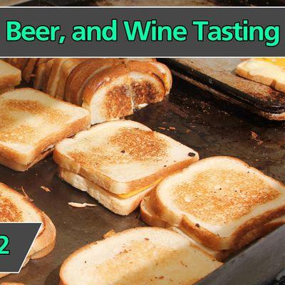 Grilled Cheese Beer & Wine Tasting 2022