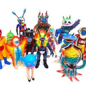 Japanese Kaiju Toys and Contemporary Art