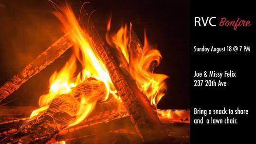 RVC Annual Summer Bonfire at Regina Victory Church, Regina