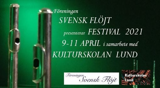 Flöjtfestival 9-11 april 2021, 9 April | Event in Lund | AllEvents.in