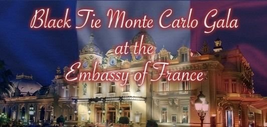 Embassy of France European Gala with a Touch of Monte Carlo, 13 November   Event in Washington D.C.   AllEvents.in