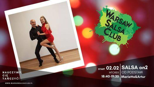 Salsa on2 od podstaw - Marietta&Artur - Wtorki 18:40 w WSC, 2 March   Event in Warsaw   AllEvents.in