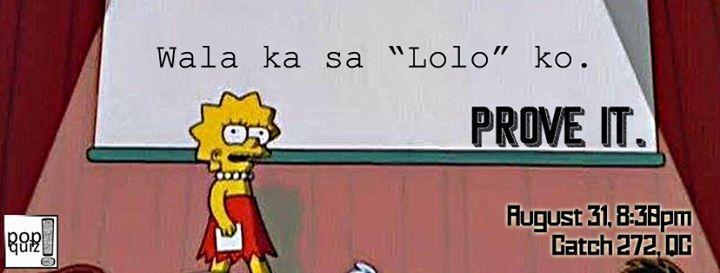 PQ Prove it: Buwan ng Wika at Catch272, Quezon City