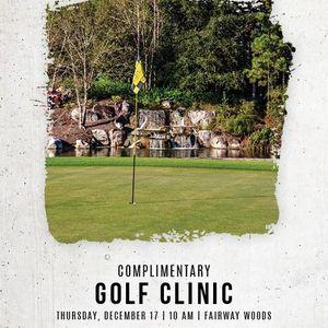 Complimentary Golf Clinic