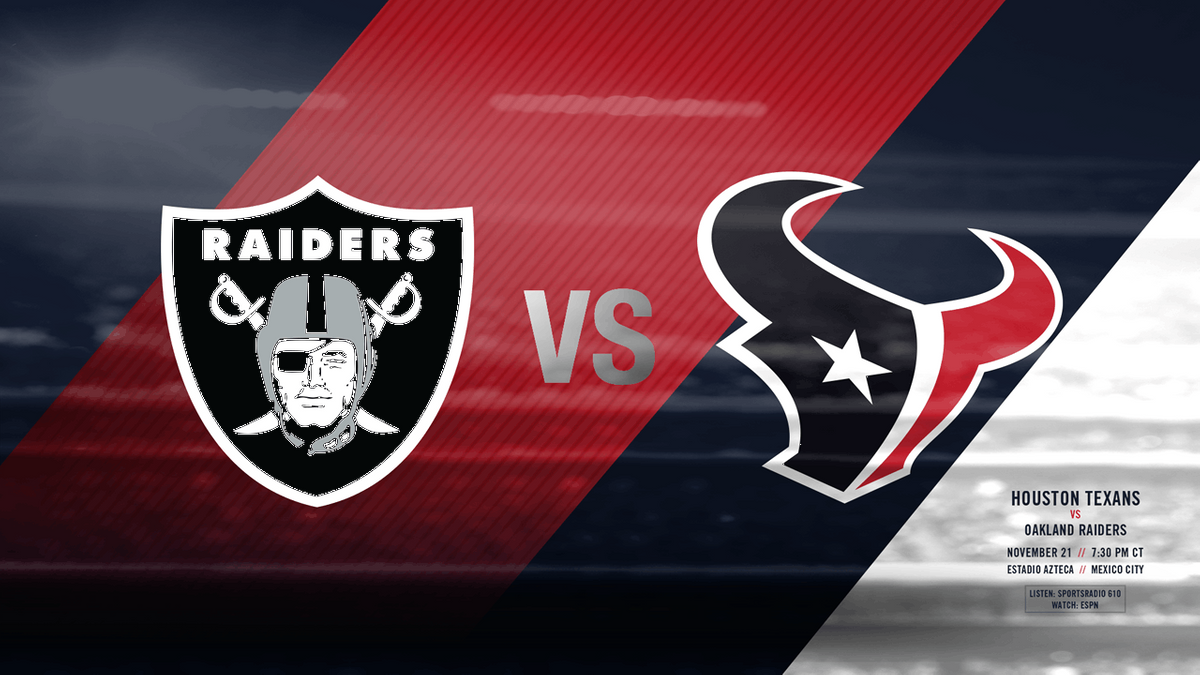 Texans Vs Raiders Tailgate with GFE Tailgaters