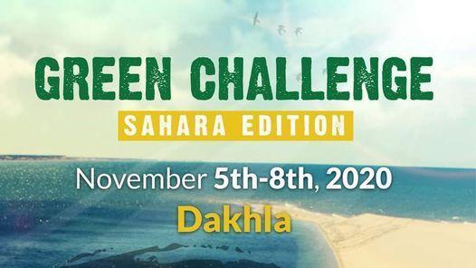 Green Challenge - Sahara Edition, 5 November | Event in Rabat | AllEvents.in