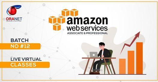 12-Batch Live Virtual Classes Amazon Web Services