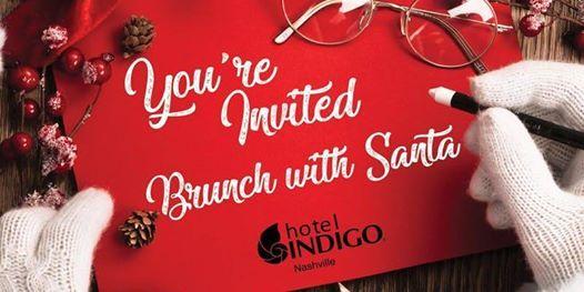 Santa Brunch at Hotel Indigo
