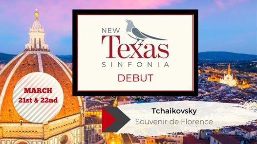 New Texas Sinfonia Debut