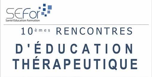 10èmes rencontres d'éducation thérapeutique Vendredi 27 novembre 2020