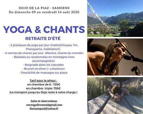 Yoga et chants - Retraite dt