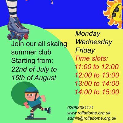 Rolladome Queensmere Summer Skate 2019