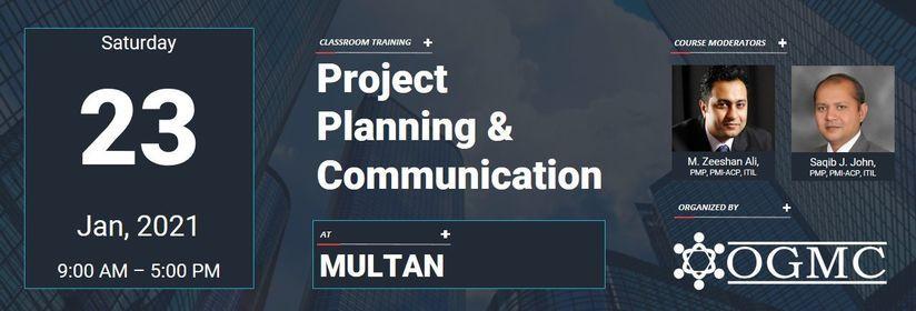 Project Planning & Communication [Multan], 23 January   Event in Multan   AllEvents.in