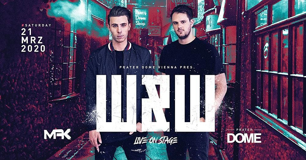 W&W Live | Prater DOME Wien, 2 January | Event in Wien | AllEvents.in