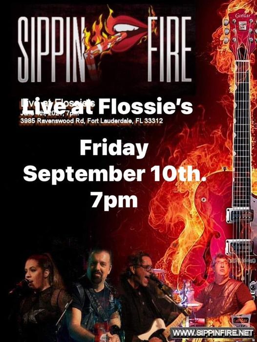 Sippin'Fire at Flossie's, 19 September | Event in Fort Lauderdale | AllEvents.in