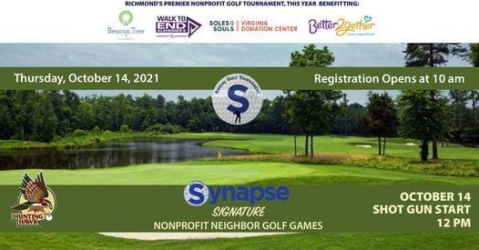 Synapse Signature Nonprofit Neighbor Golf Games, 14 October | Event in Glen Allen | AllEvents.in