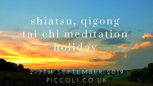 Shiatsu Qigong Tai Chi Meditation Holiday 2019   Newcastle Upon Tyne