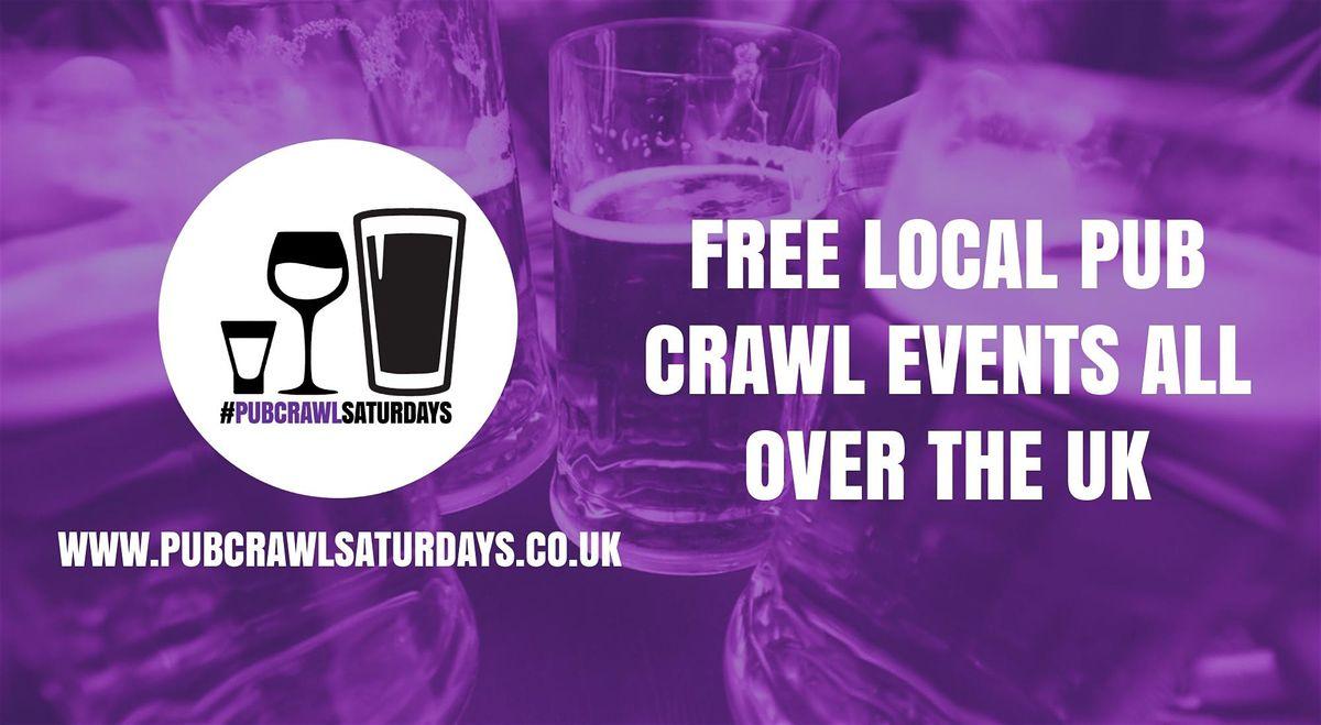 PUB CRAWL SATURDAYS Free weekly pub crawl event in Elgin