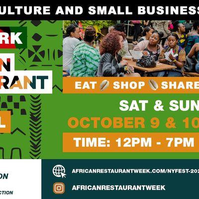 New York African Restaurant Week  Festival 2021