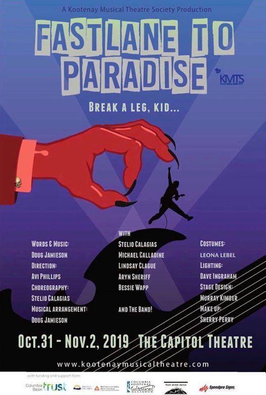 Fastlane to Paradise A New Rock Musical by Doug Jamieson